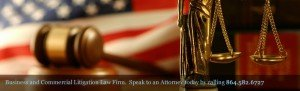 Business & Commercial Litigation Attorney | Law Firm | Spartanburg Greenville SC