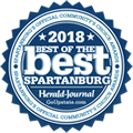 Smith & Haskell Law Firm, LLP & Attorneys William McBee Smith & Edwin C. Haskell III Spartanburg Community Choice Awards 2018 Best of the Best Lawyers, Law Firm Attorneys, Spartanburg South Carolina