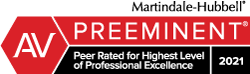 Edwin Haskell III Martindale-Hubble Top Rated Lawyers™ | 2021AV Preeminent Rating® for Top Rated & Best Lawyers in Spartanburg & Greenville South Carolina